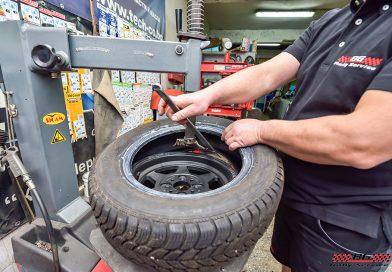 Грижа за гумите